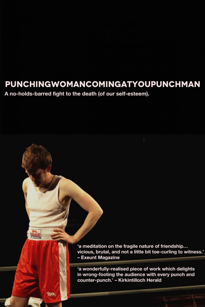 Punching Woman Coming at You Punchman